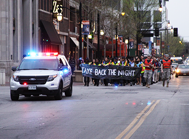 Take Back the Night march.