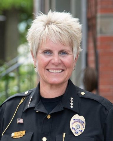 Police Chief Alice Cary