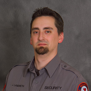 Security Officer Jacob Landreth