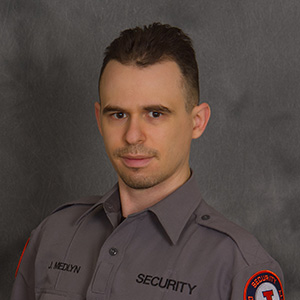 Security Officer Jeremiah Medlyn